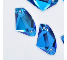 Стразы пришивные Galaxy Capri Blue 12x19