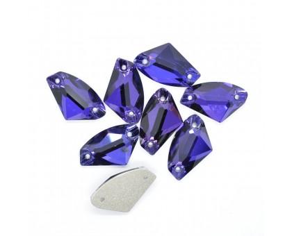 Стразы пришивные Galaxy Purple Velvet 12x19