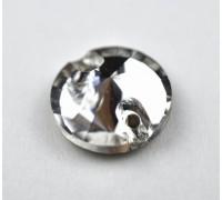 Стразы пришивные Риволи Crystal 14 мм